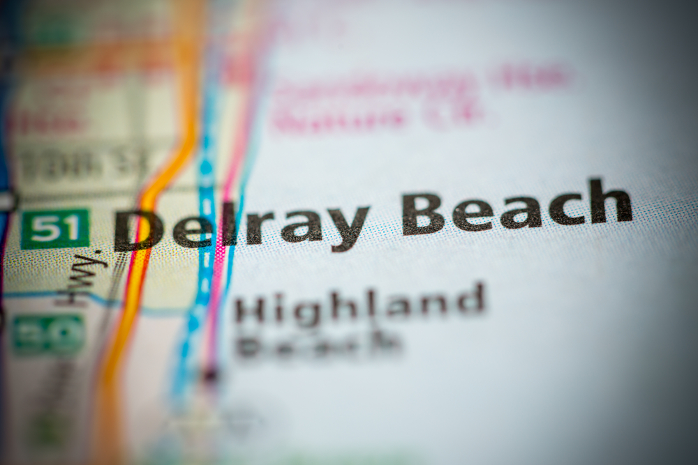 Map of Delray Beach